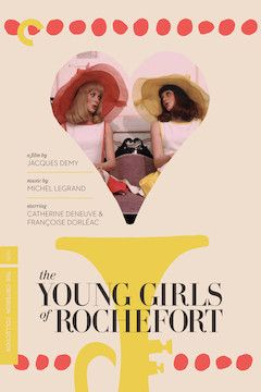 The Young Girls of Rochefort movie poster.