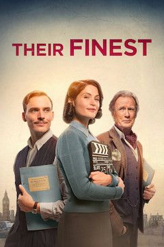 Their Finest movie poster.