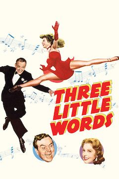 Three Little Words movie poster.