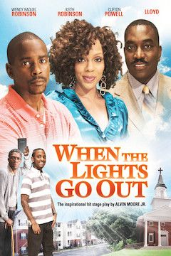 When the Lights Go Out movie poster.