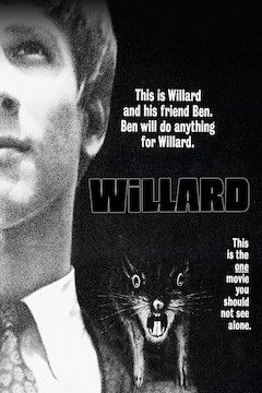 Willard movie poster.