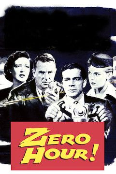 Poster for the movie Zero Hour!