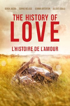 The History of Love movie poster.