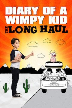 Diary of a Wimpy Kid: The Long Haul movie poster.