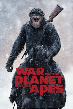 War for the Planet of the Apes movie poster.