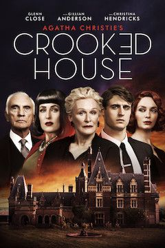 Crooked House movie poster.
