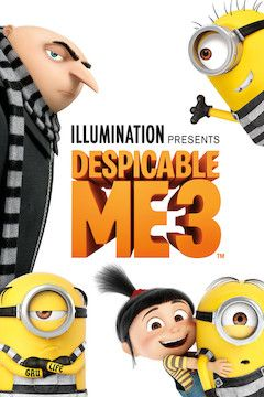 Despicable Me 3 movie poster.