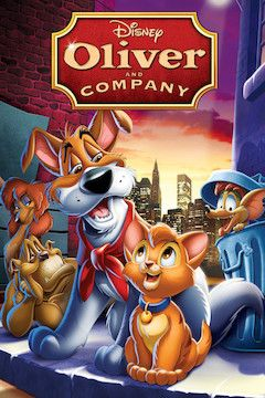 Oliver & Company movie poster.