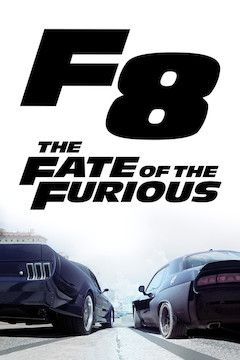 The Fate of the Furious movie poster.