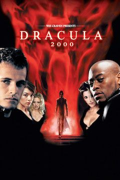 Dracula 2000 movie poster.