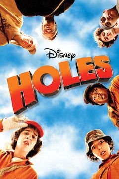 Holes movie poster.