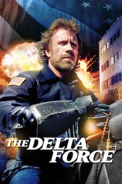 The Delta Force movie poster.