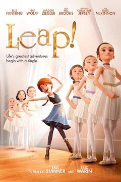 Leap! movie poster.