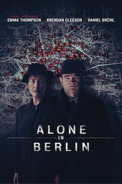 Poster for the movie Alone in Berlin