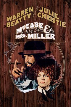 McCabe and Mrs. Miller movie poster.
