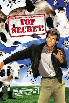 Top Secret! movie poster.