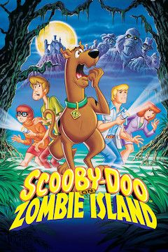 Scooby-Doo on Zombie Island movie poster.