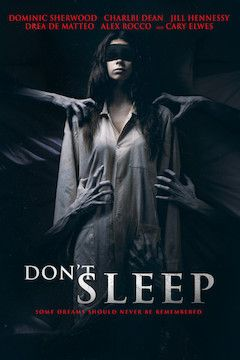 Poster for the movie Don't Sleep