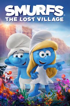 Smurfs: The Lost Village movie poster.