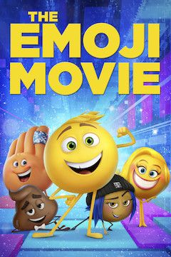 The Emoji Movie movie poster.