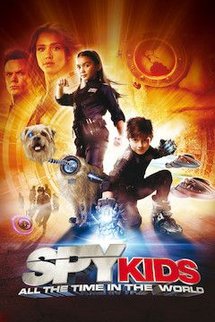 Poster for the movie Spy Kids 4: All the Time in the World