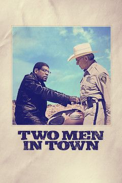 Two Men in Town movie poster.