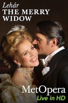 The Merry Widow movie poster.