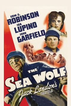 The Sea Wolf movie poster.