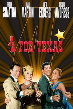 Four for Texas movie poster.