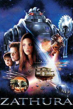 Poster for the movie Zathura: A Space Adventure