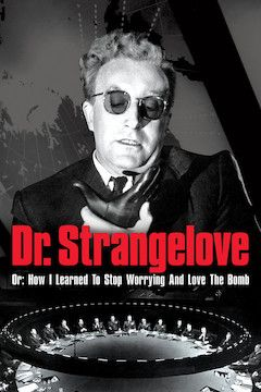 Dr. Strangelove (Or How I Learned to Stop Worrying and Love the Bomb) movie poster.