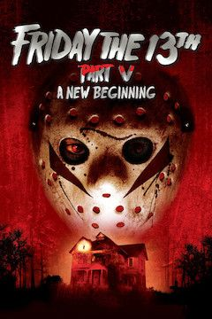Friday the 13th: A New Beginning movie poster.