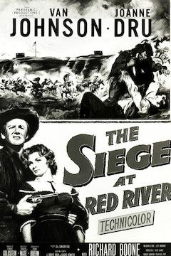 The Siege at Red River movie poster.