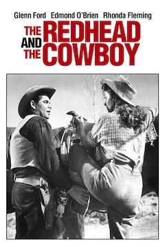 Redhead and the Cowboy movie poster.