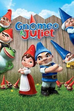 Gnomeo and Juliet movie poster.