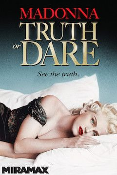 Madonna: Truth or Dare movie poster.