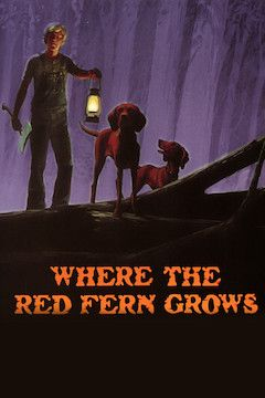 Where the Red Fern Grows movie poster.