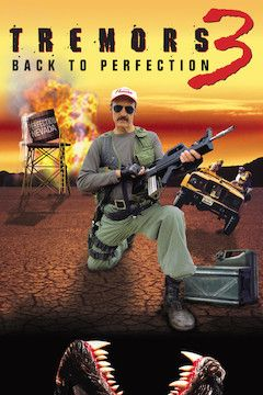 Tremors 3: Back to Perfection movie poster.