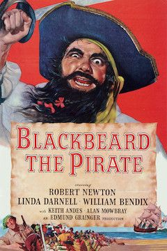 Poster for the movie Blackbeard the Pirate