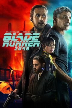 Blade Runner 2049 movie poster.