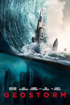 Poster for the movie Geostorm