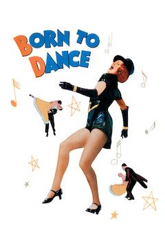 Born to Dance movie poster.