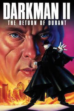 Darkman 2: The Return of Durant movie poster.