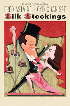 Silk Stockings movie poster.