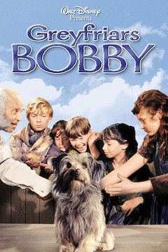 Greyfriar's Bobby movie poster.