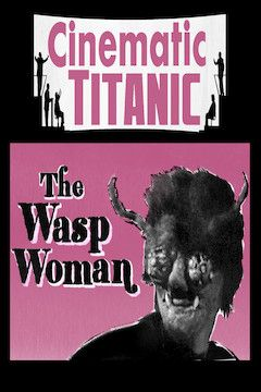 The Wasp Woman movie poster.