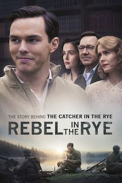 Rebel in the Rye movie poster.