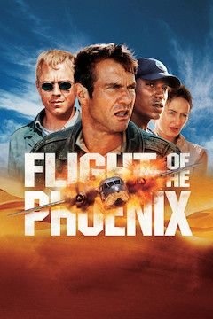 Flight of the Phoenix movie poster.