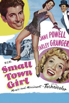 Small Town Girl movie poster.