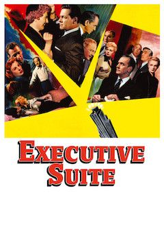 Executive Suite movie poster.